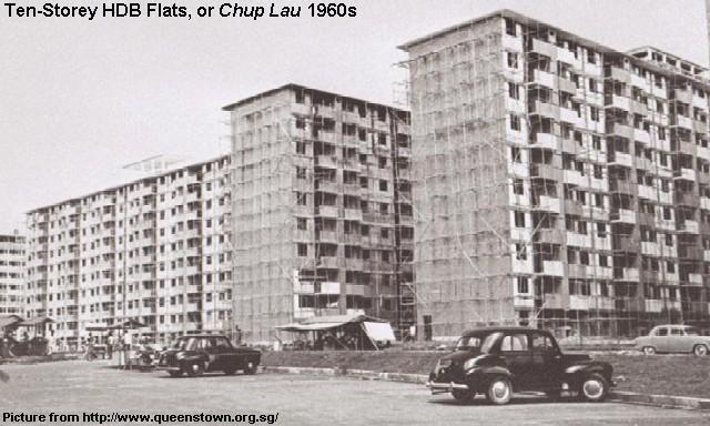 redwire singapore hdb flats 1960s