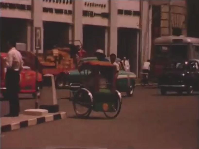 redwire singapore 1964 trishaw
