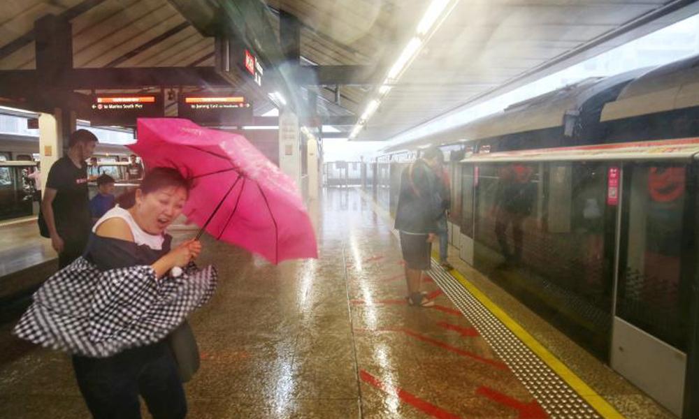 redwire-singapore-yishun-mrt-rain